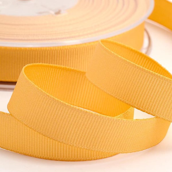 Picture of DIY Grosgrain Ribbon in Pale Gold