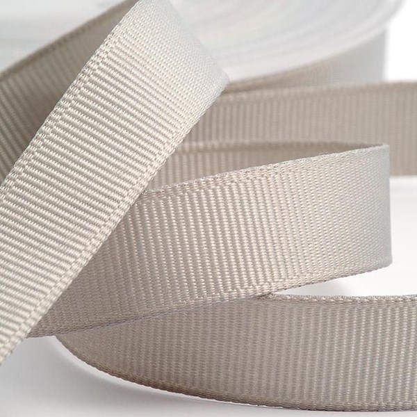 Picture of DIY Grosgrain Ribbon in Silver