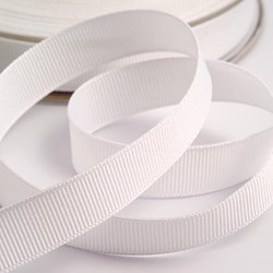 Picture of DIY Grosgrain Ribbon in White
