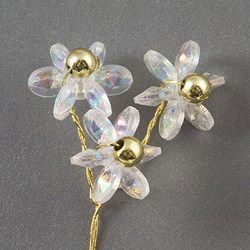Picture of DIY Iridescent Daisies Gold Wire