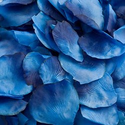 Picture of Fabric Petals in Blue
