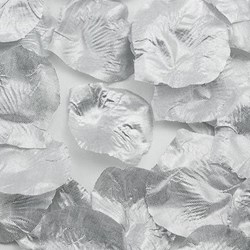 Picture of Fabric Petals in Silver