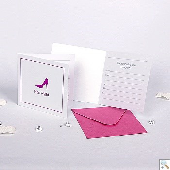 Picture of Hen Night Invitations - Pack of 10 (special offer)