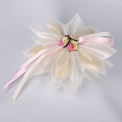 Picture of Organza Petals in Ivory