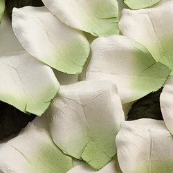 Picture of Paper Rose Petals in Green
