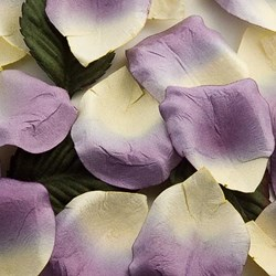 Picture of Paper Rose Petals in Lilac
