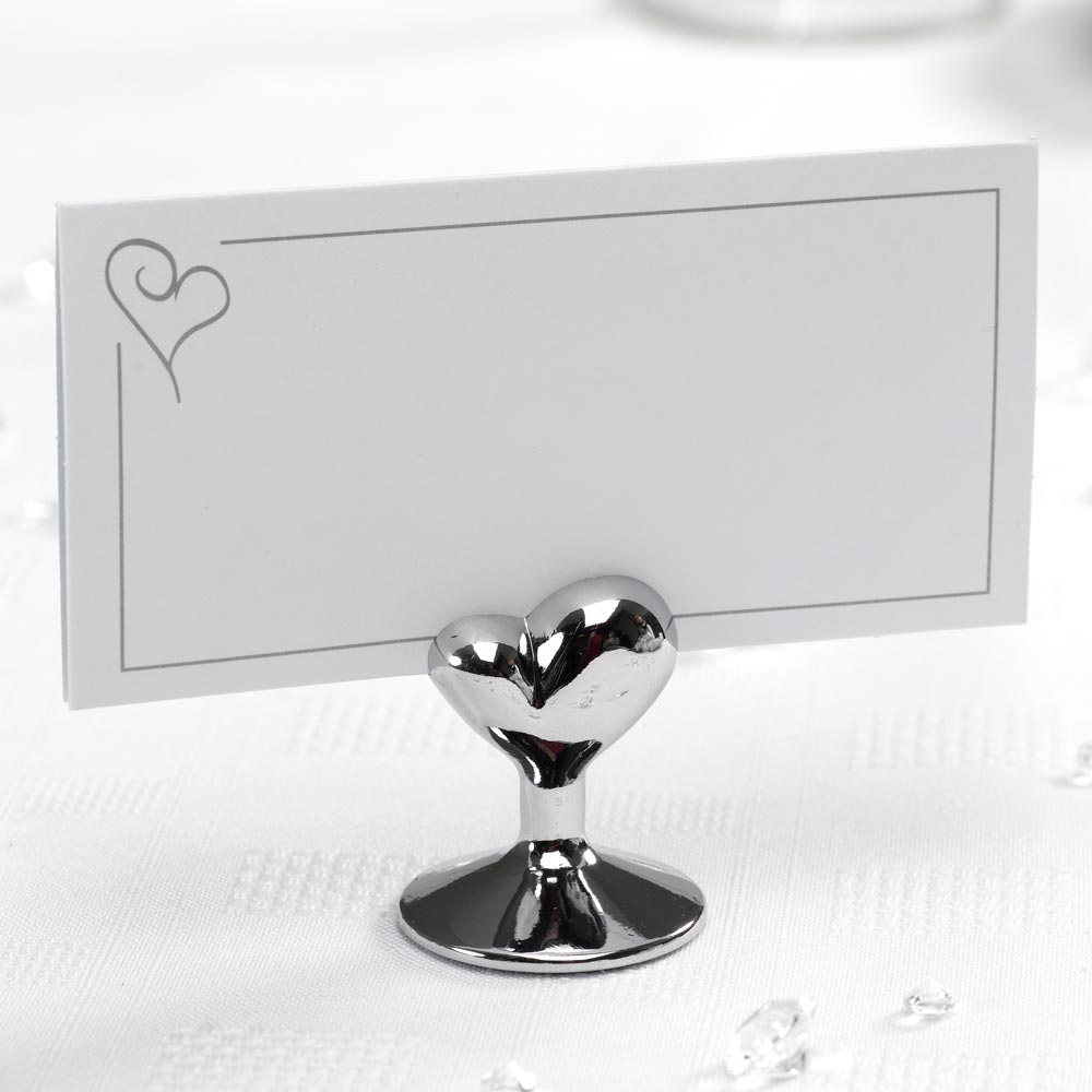 Place Card Holders - Contemporary Heart