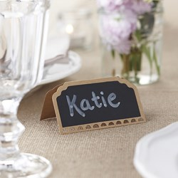 Picture of Place Cards - Chalkboard Kraft - Vintage Affair