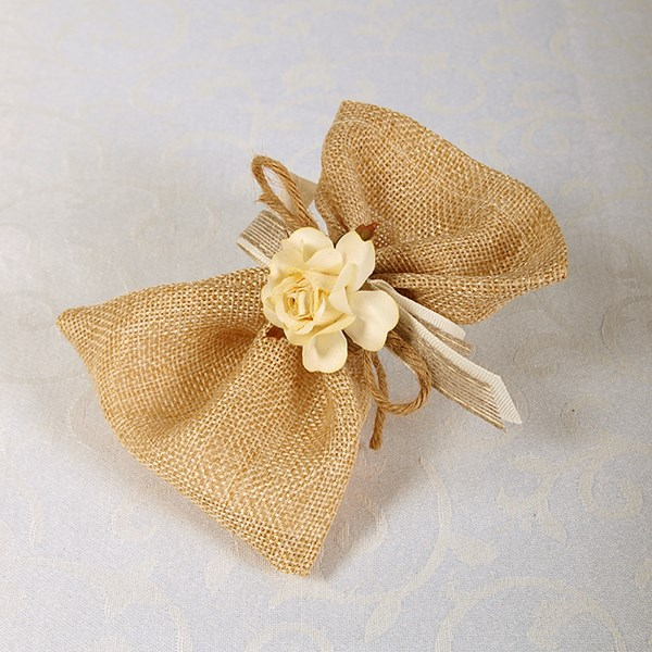 Picture of Ready Made Rustic Rose Pouch