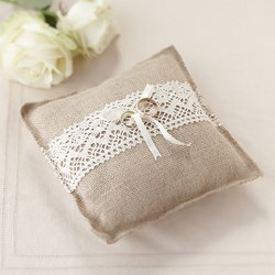 Picture of Ring Cushion - Hessian