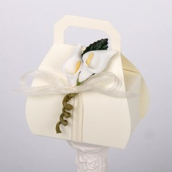 Picture of Silk Ivory Hand Bag
