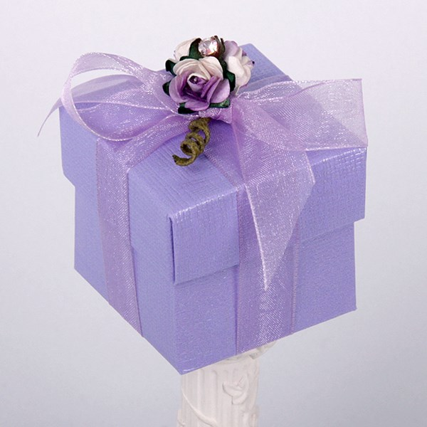 Picture of Silk Lilac Box & Lid
