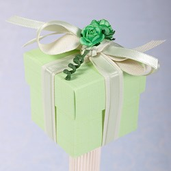 Picture of Silk Pastel Green Box and Lid