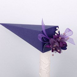 Picture of Silk Purple Design 1 Cone