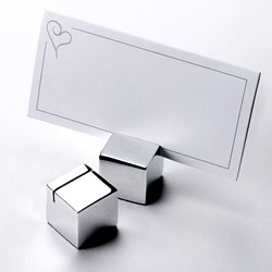Picture of Square Place Card Holders
