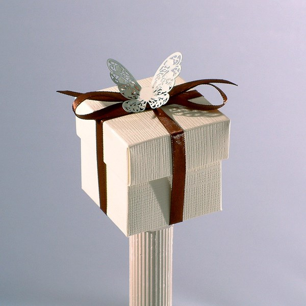 Picture of Stencil Butterfly Box & Lid