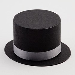 Picture of Top Hat in Black