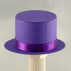 Picture of Top Hat in Purple