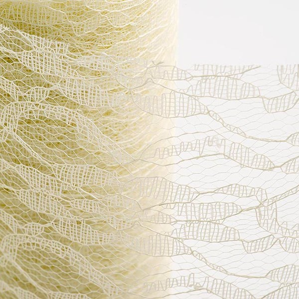 Picture of Vintage Lace on a Roll Ivory 15cm x 10m