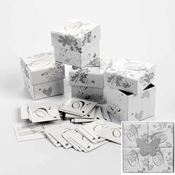 Picture of Wedding Trivia Boxes Silver