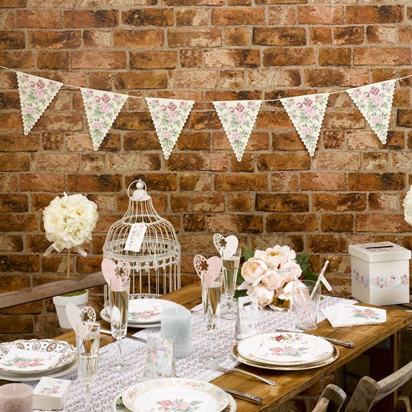 Picture of With Love - Paper Bunting