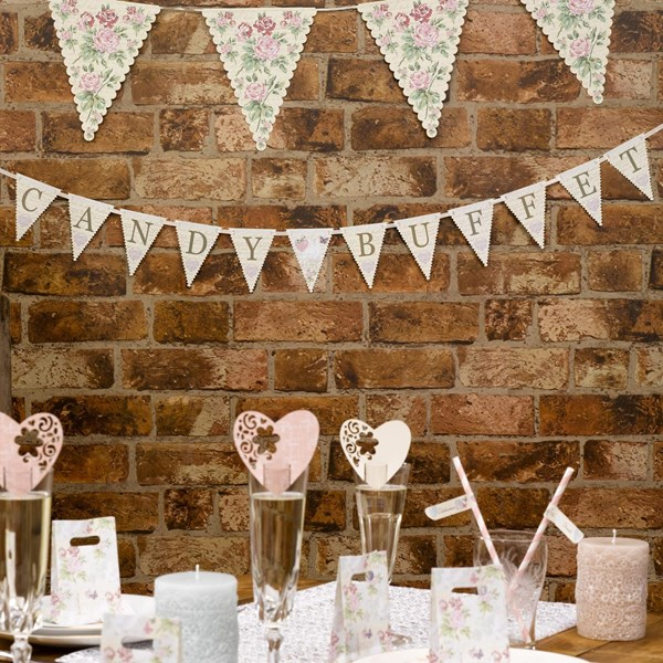 Picture of With Love - Candy Buffet Bunting