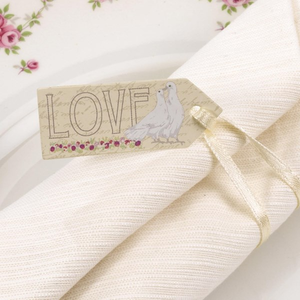Picture of With Love - Small Luggage Tags