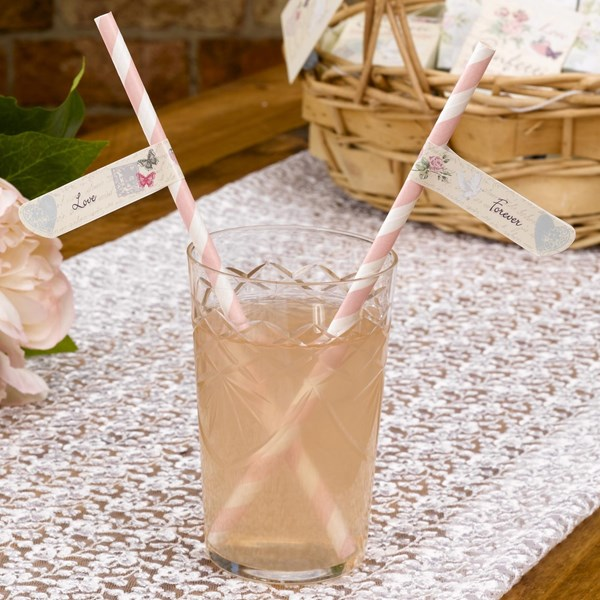 Picture of With Love - Straw Flags