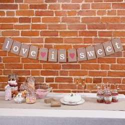 Picture of Just My Type - Candy Buffet Bunting