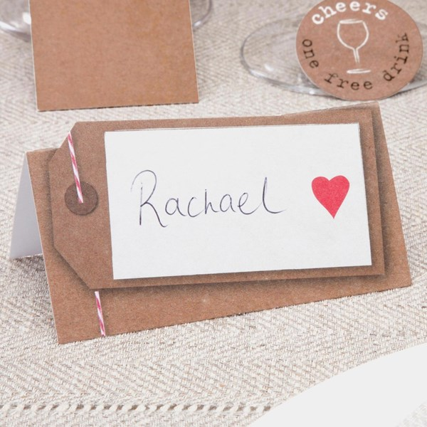 Picture of Just My Type - Place Cards