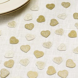 Picture of Vintage Romance - Table Confetti - Ivory/Gold