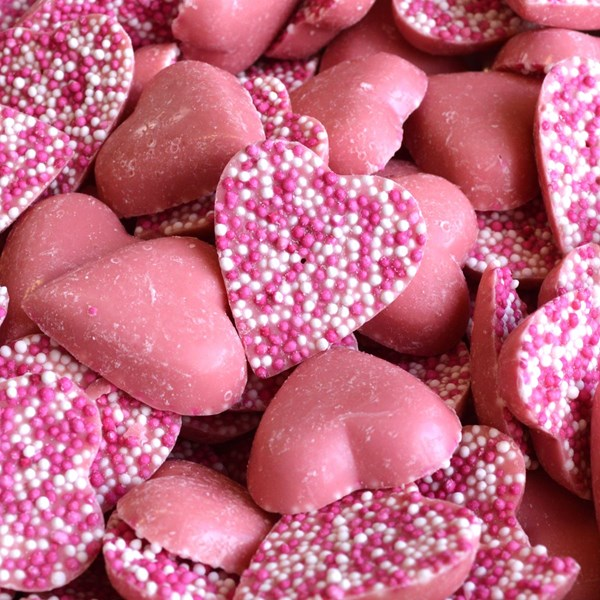 Picture of Pink Chocolate Hearts