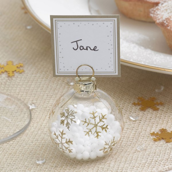 Picture of Winter Wonderland - Bauble Place Card Holders
