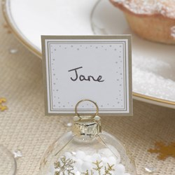 Picture of Winter Wonderland Place Cards