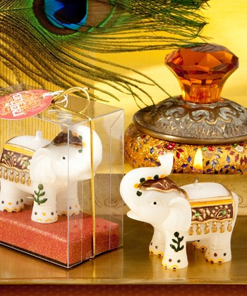 Picture of Good Fortune Elephant Candle