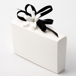 Picture of White Silk - Cake Box