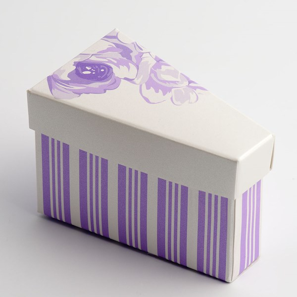 Picture of Lilac Rose - Cake Box & Lid